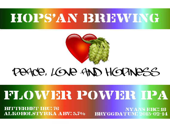 16 Flower Power IPA