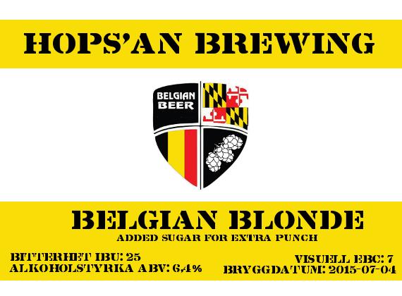 21 Belgium Blonde