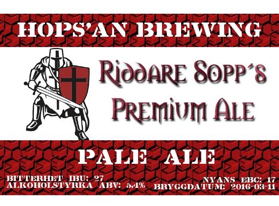 26 Riddare Sopp Premium Ale