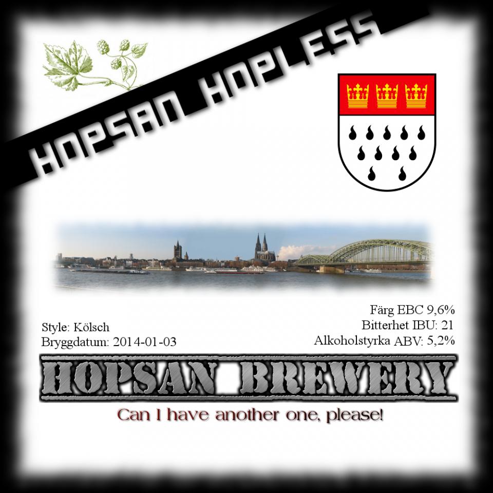 4 Hopsan Hopless